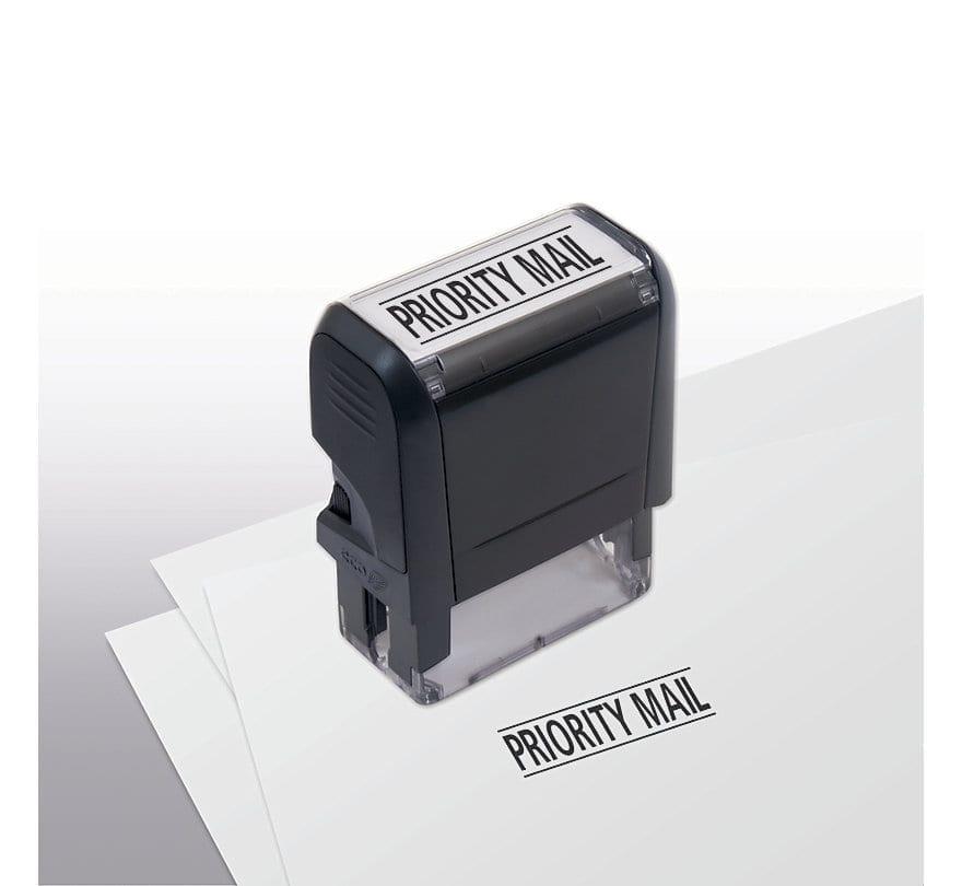 priority mail stamp selfinking